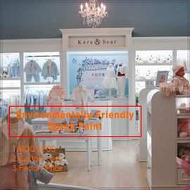 Porcellana hot sell fashion baby clothes store interior design for clothing display fabbrica
