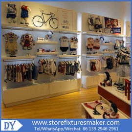 Porcellana Lovely Kids Clothes Shops - Manufactory Baby Kids Shop display furnitures with led  lights fabbrica