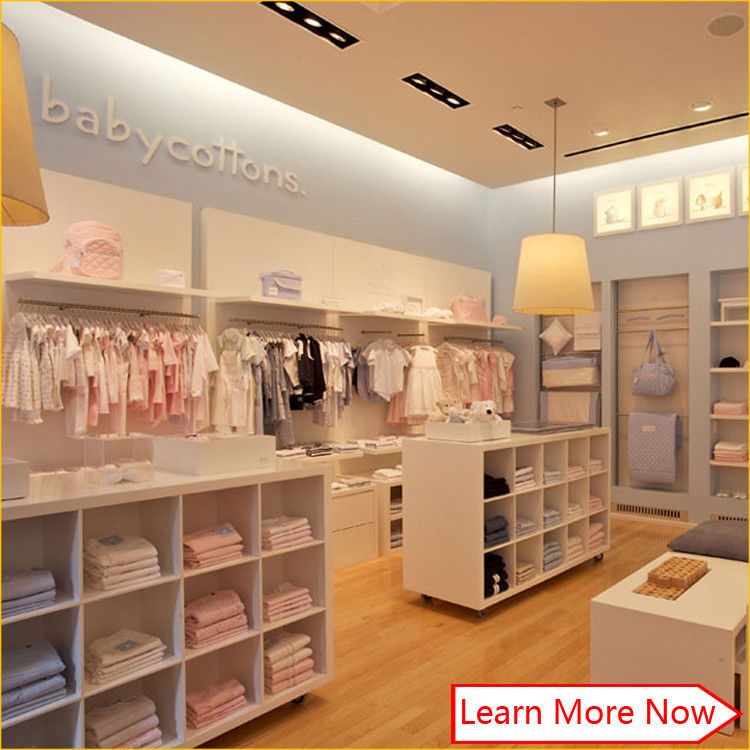 New China hot sale fashion baby clothing stores,shop display fitting clothing stores fornitore